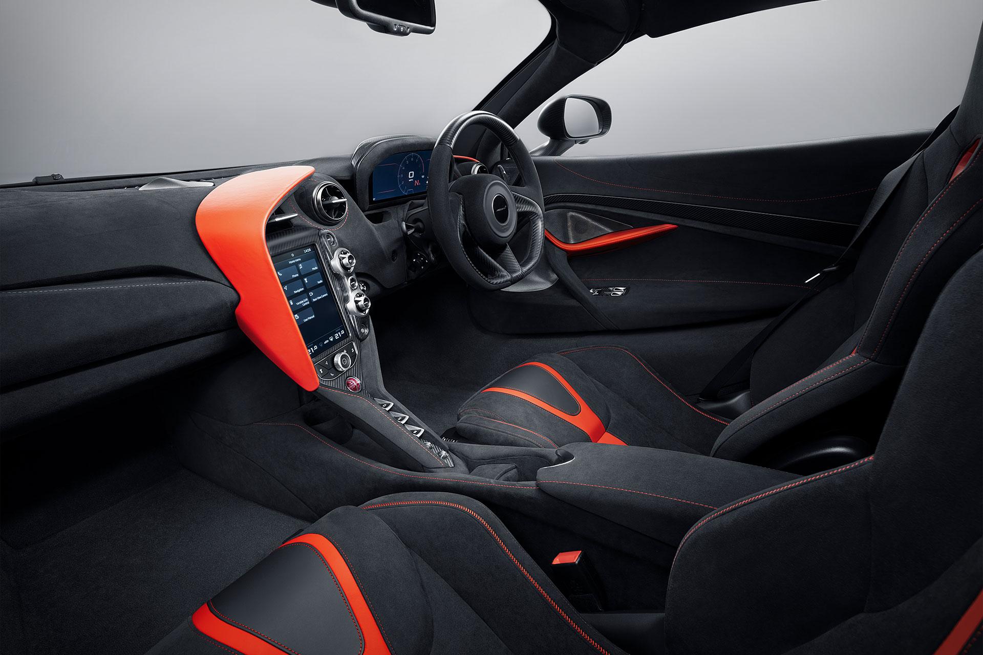 McLaren 720s Stealth Interior