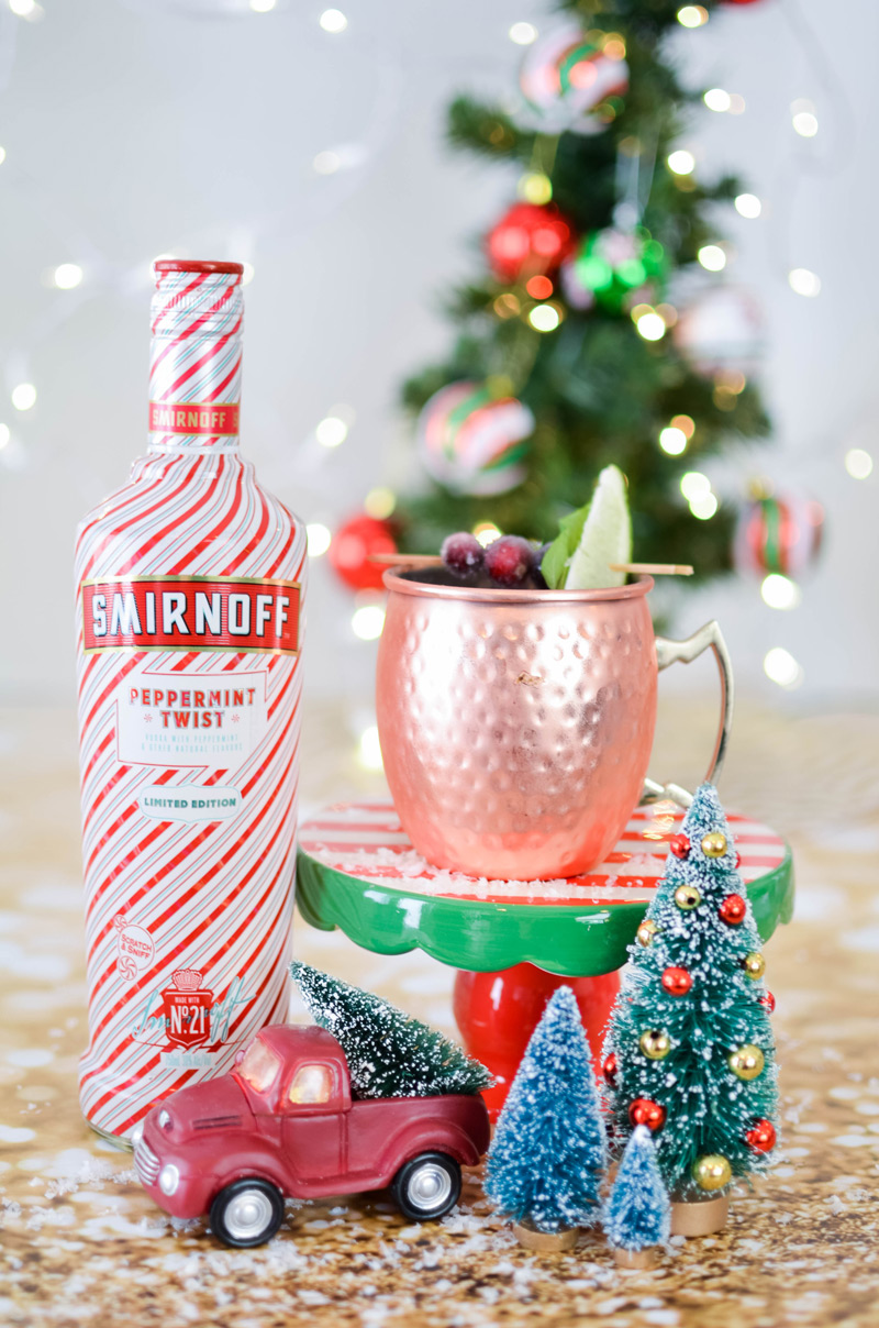 Smirnoff Peppermint Twist Peppermint Cranberry Recipe