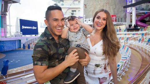 Symphony of the Seas God Family - Carlos and Alexa PenaVega