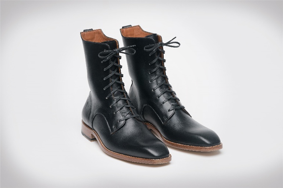 Raul Ojeda boots made from whisky barrels