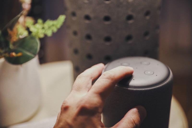 Turning on the Amazon Echo Plus