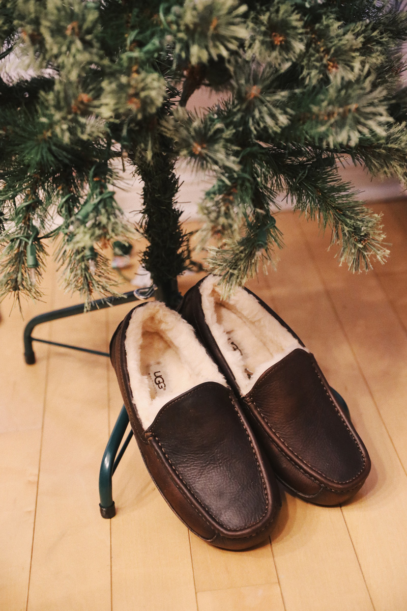 UGG under the Christmas tree