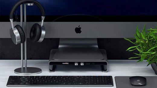 Satechi Type-C-Aluminum Monitor Stand Hub
