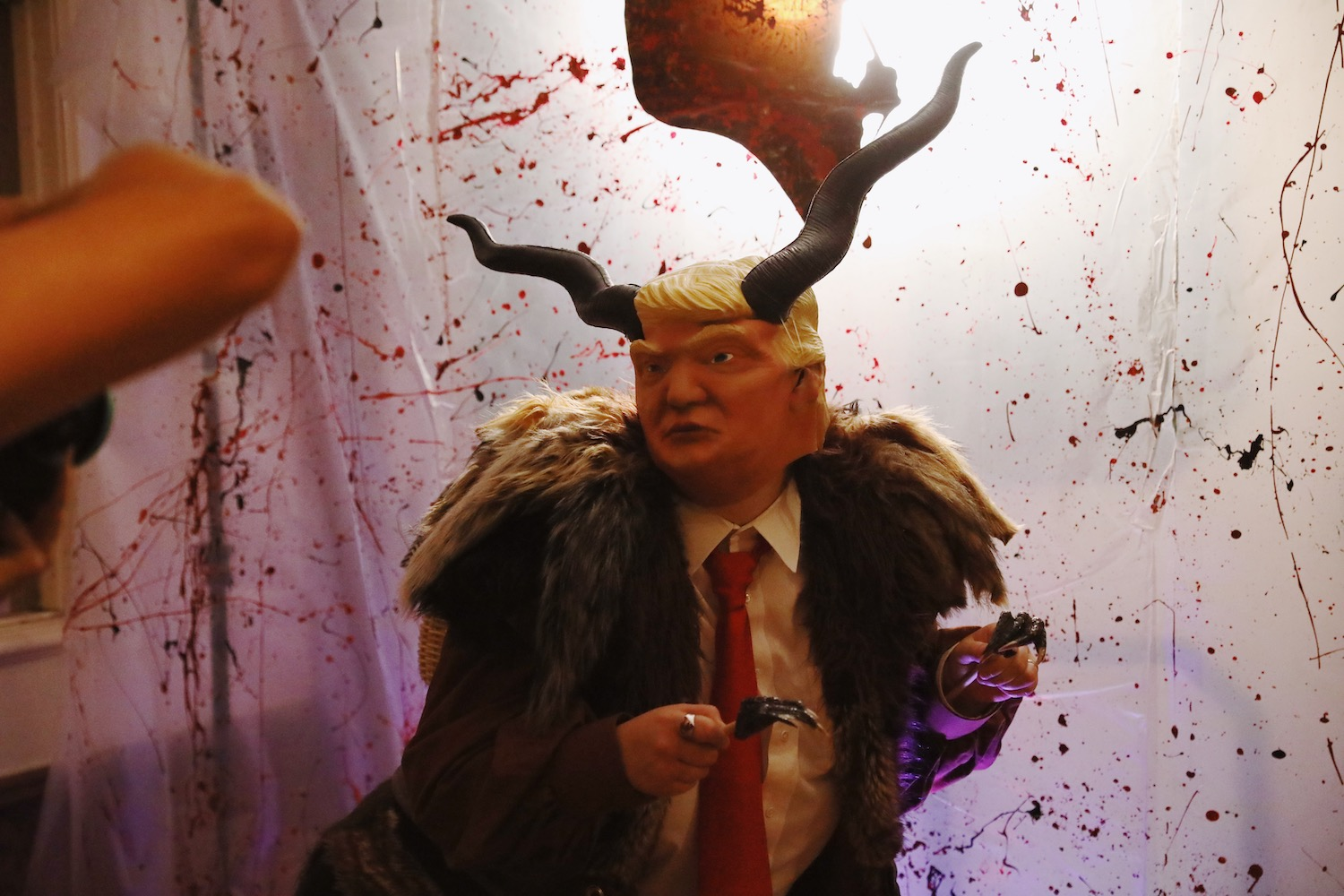 Trump Krampus at the Los Angeles Krampus Ball 2018