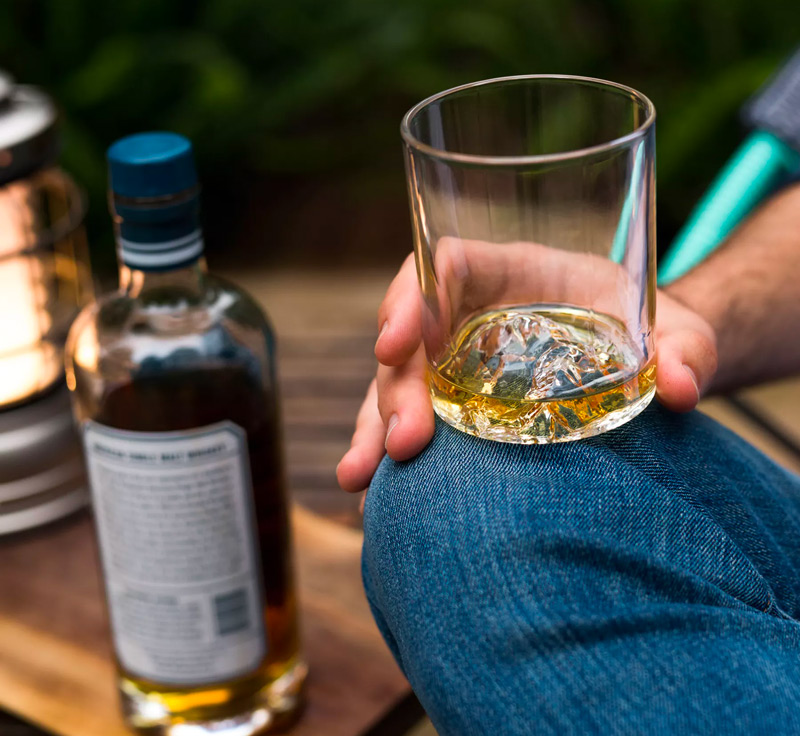Mt. Everest Whiskey Glasses