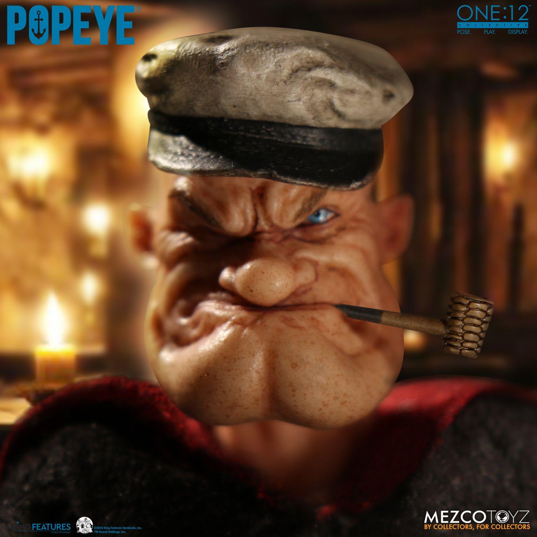 Realistic Popeye Figurine