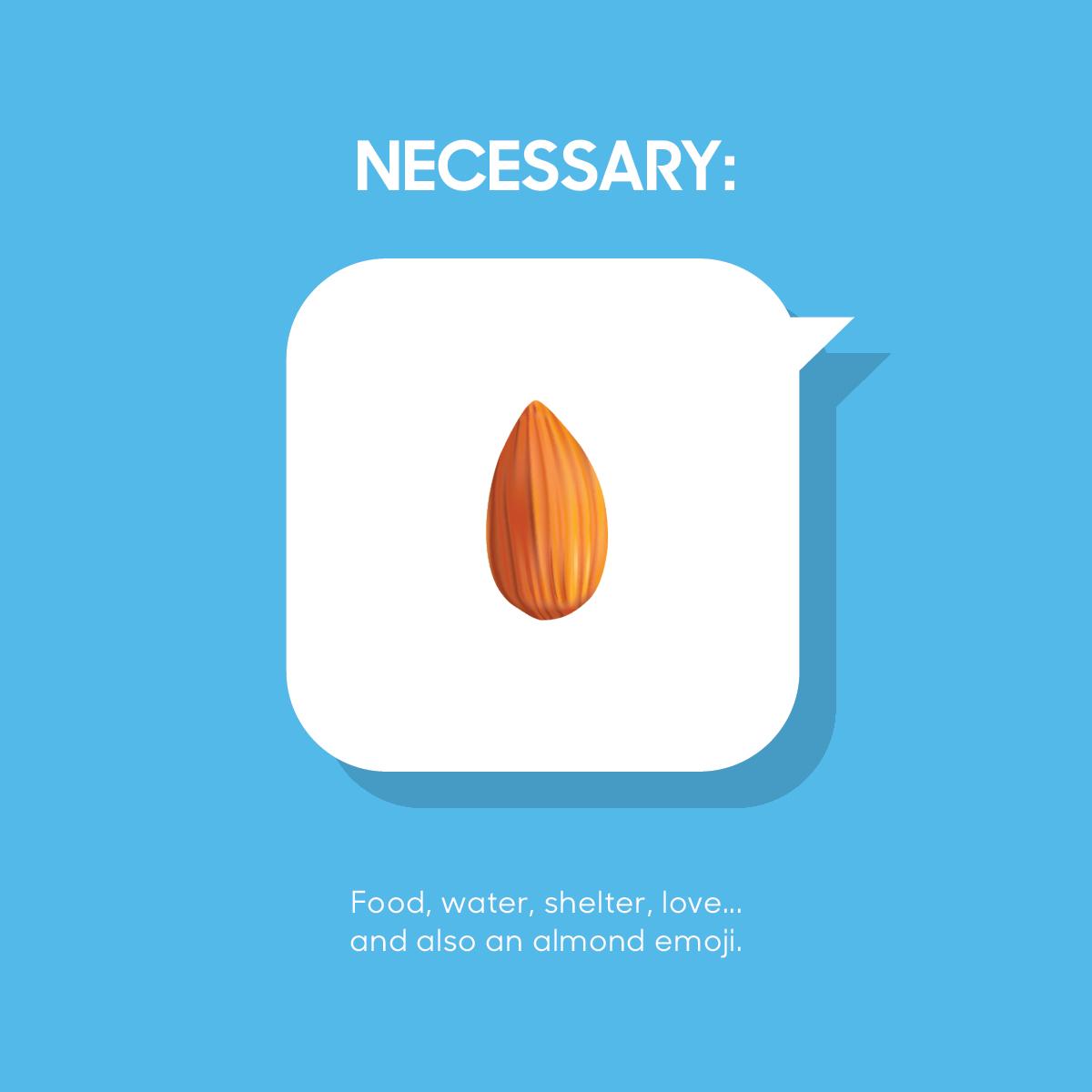 Almond Emoji