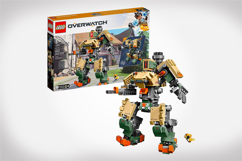 Overwatch collectibles - LEGO Bastion Building Kit