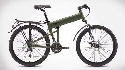 A foldable bike that will fit neatly in your home
