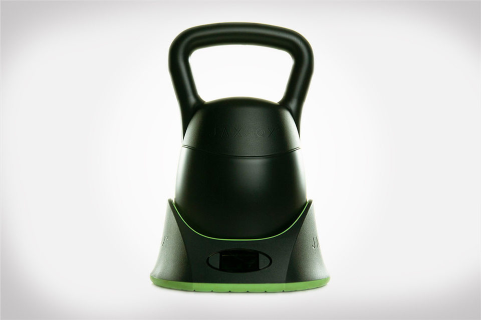 KettlebellConnect is a multi-weighted kettlebell with six different weights in one