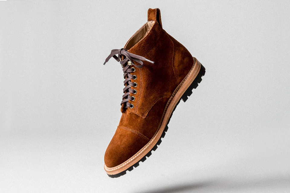 Taylor Stitch Suede Boots