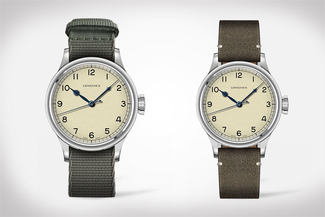 The Longines Heritage Military Automatic Watch