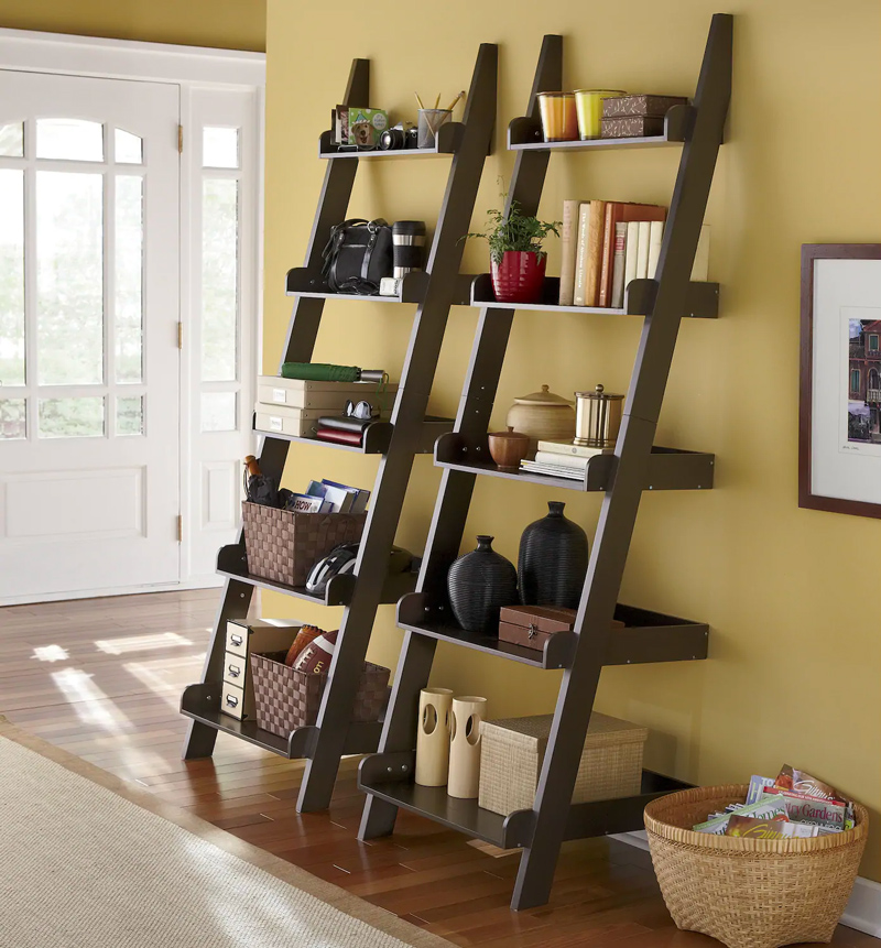 Bookshelf Ladder Shelves
