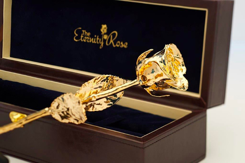24k Gold Rose - The Eternity Rose