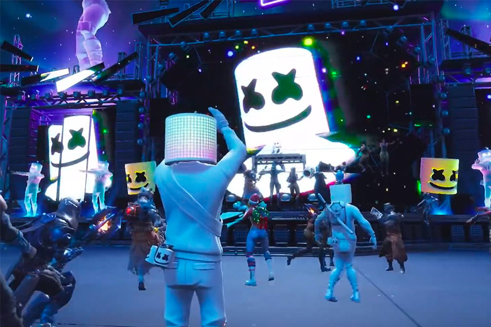 Marshmello Fortnite Concert