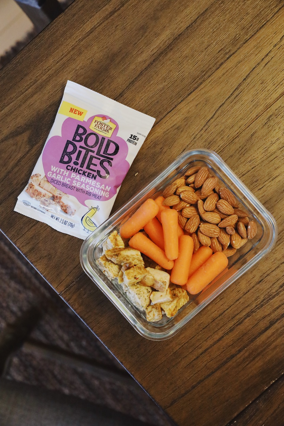 Meal prepping with Foster Farms Bold Bites