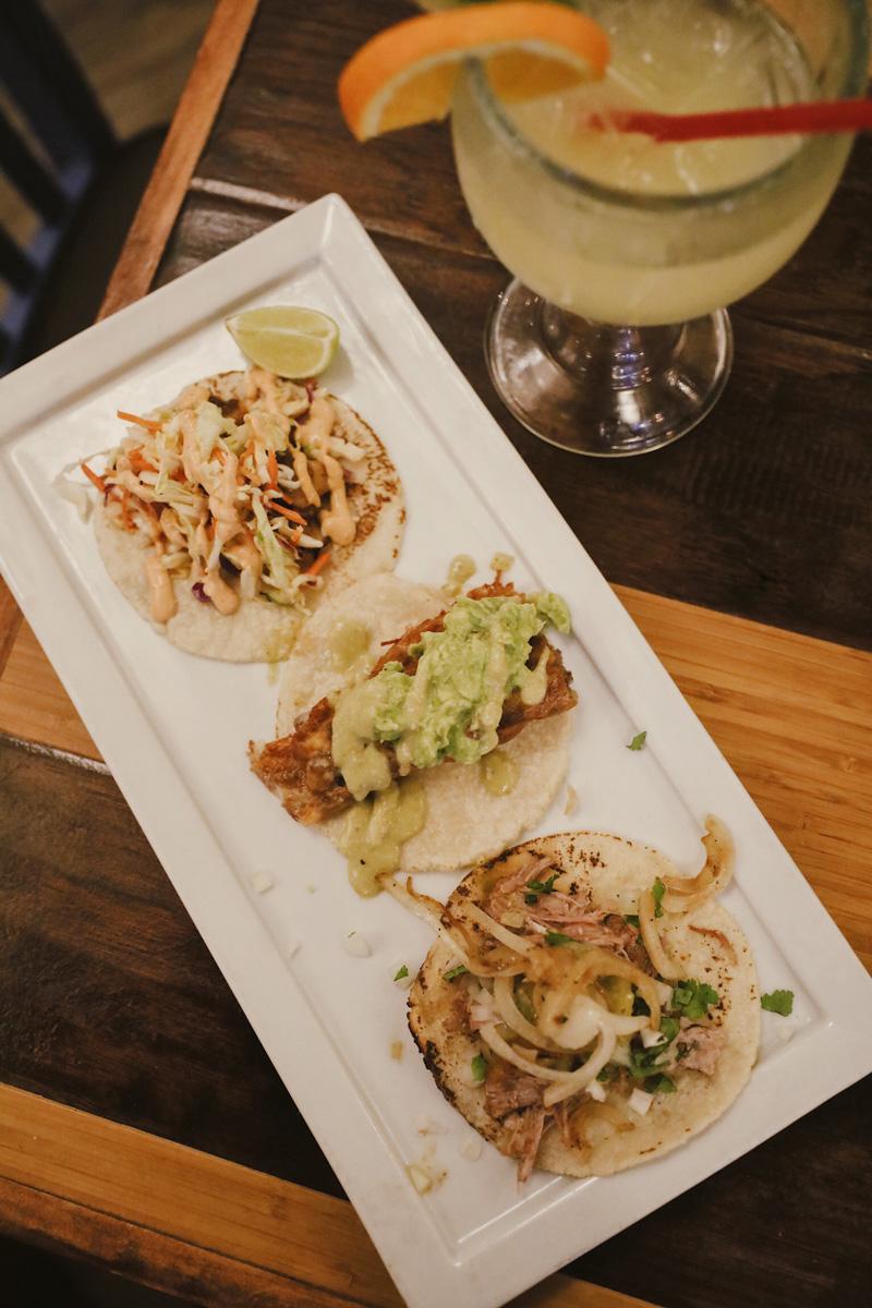Tacos at Plata Taqueria and Cantino