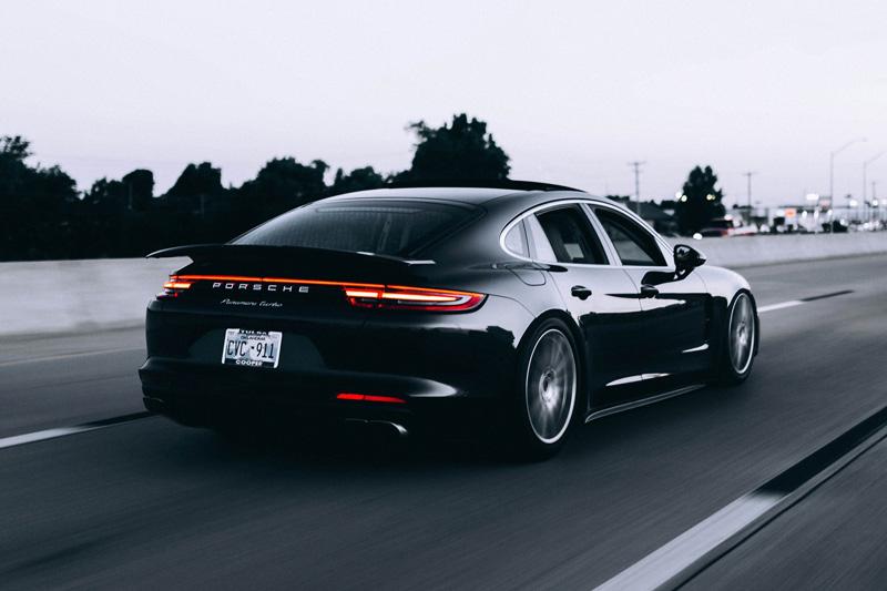 A beautiful Porsche