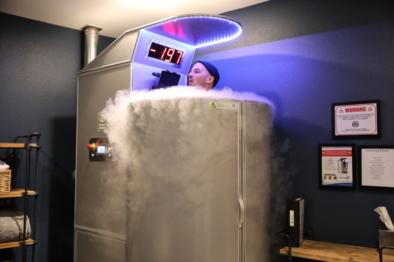 Trying cryotherapy