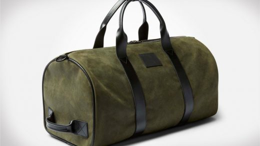 Limited edition KILLSPENCER Italian suede duffle