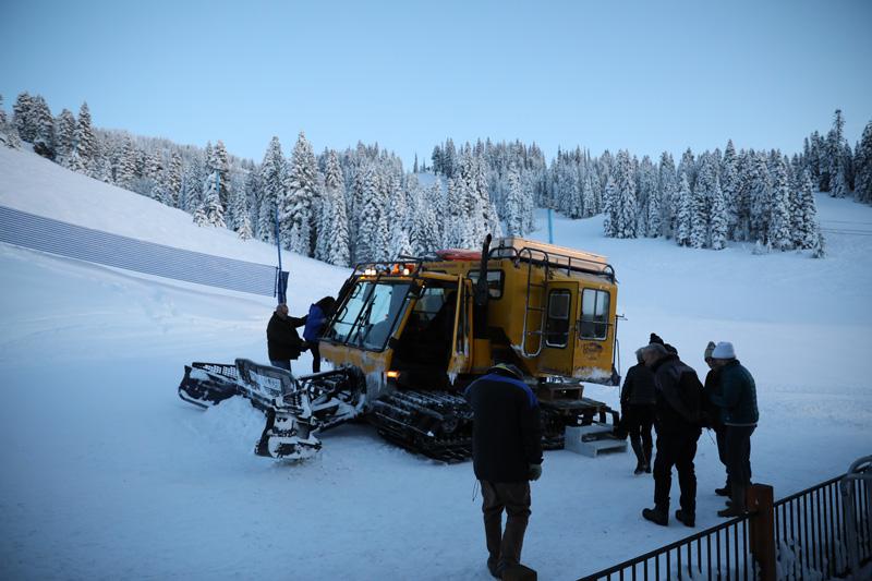 SnowCat at Brundage Mountain Resort