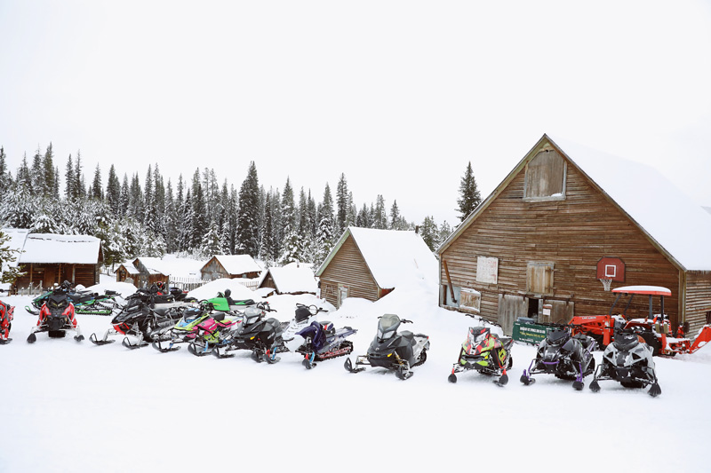 Snowmobiling in McCall, Idaho