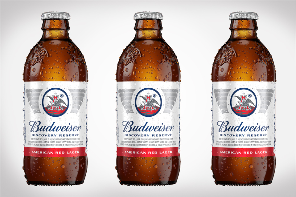 Budweiser Discovery Reserve American Lunar Anniversary Red Lager