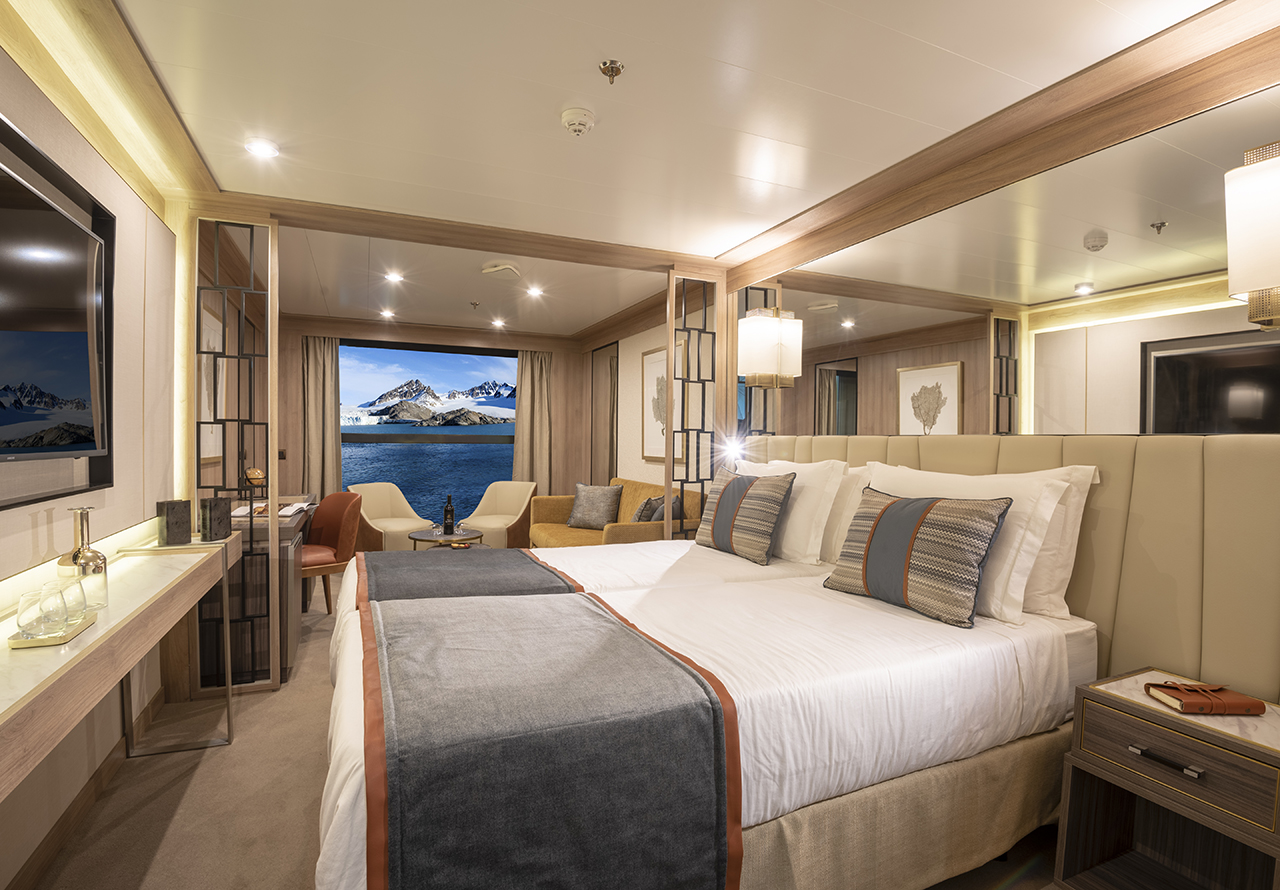 Mystic Cruises World Explorer Cabin