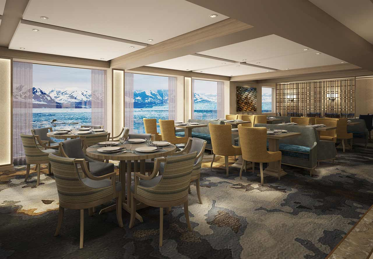 Mystic Cruises World Explorer Dining