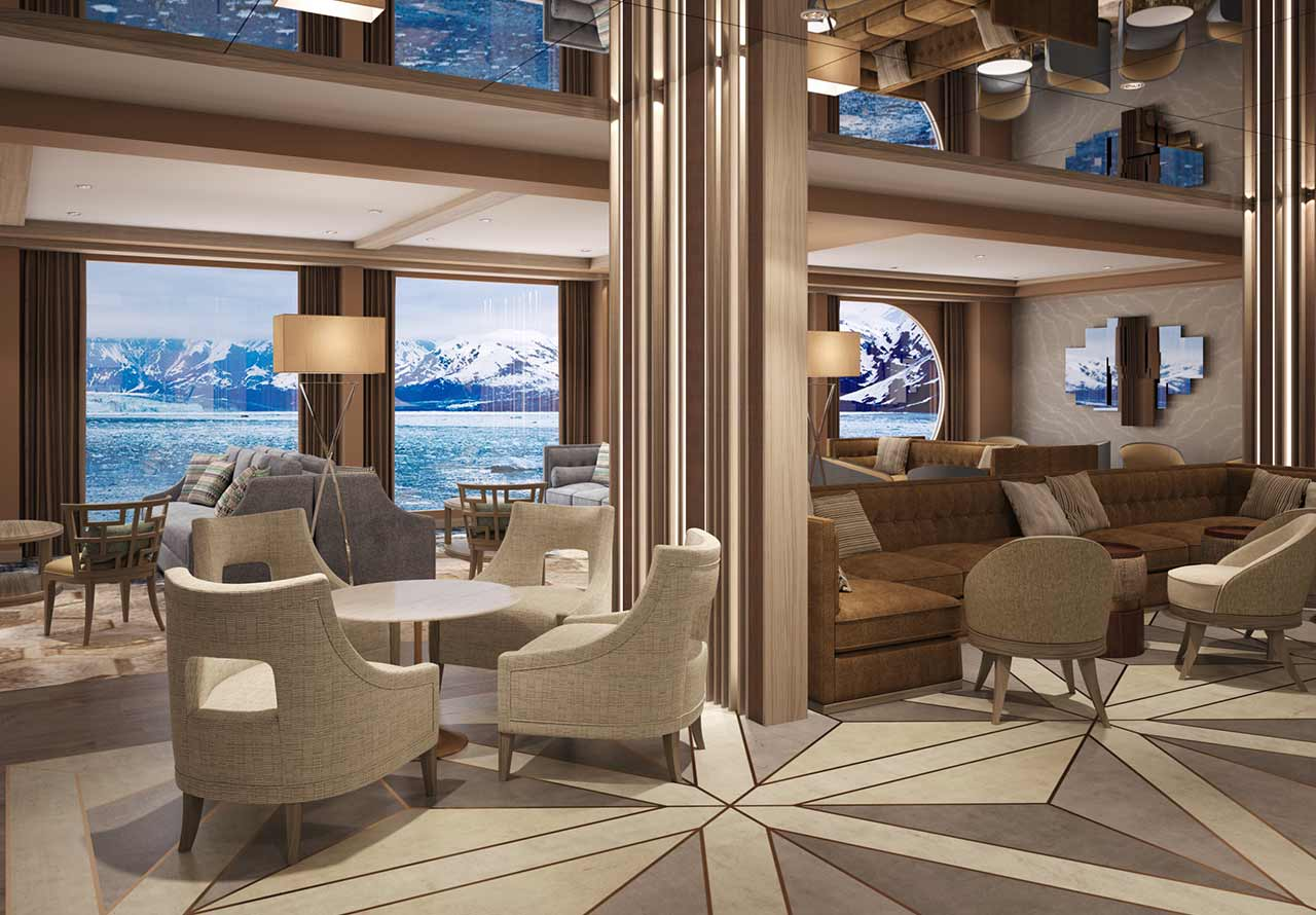 Mystic Cruises World Explorer Lounge