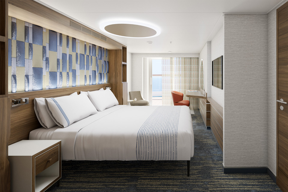 Carnival Excel Suite in the new Mardi Gras