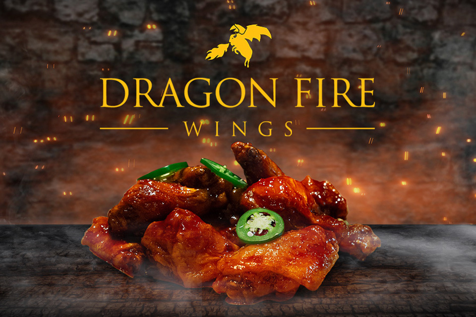 Dragon Fire Wings from Buffalo Wild Wings