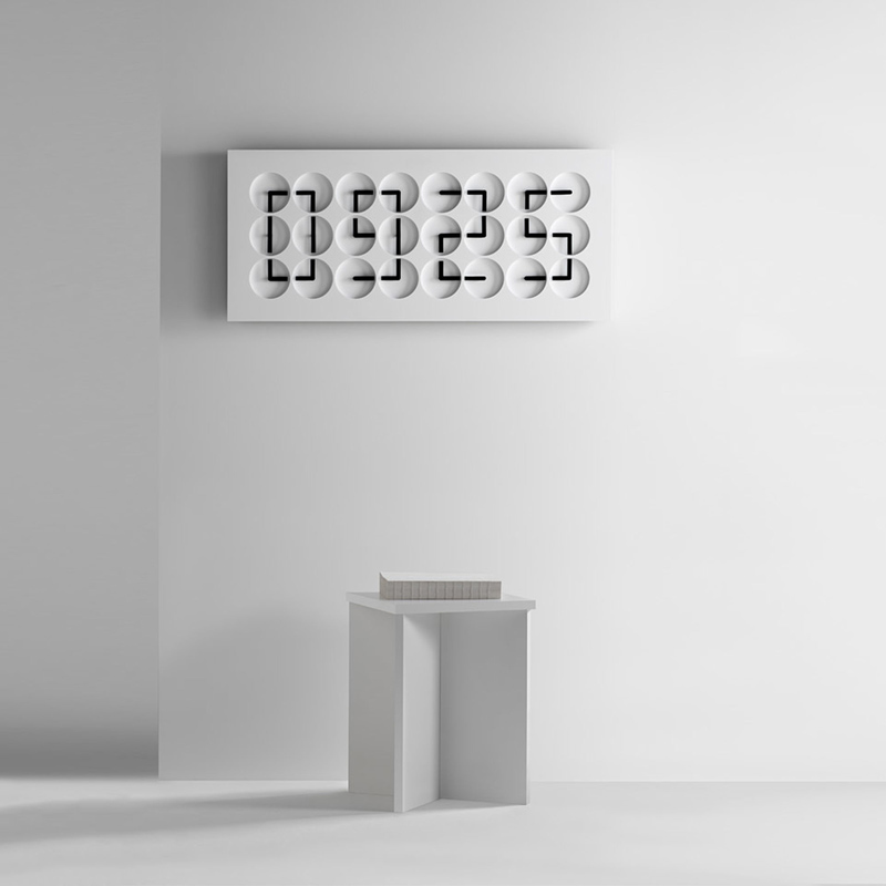 Unique modern clock