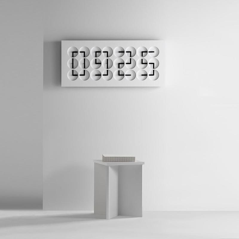 Unique modern clock