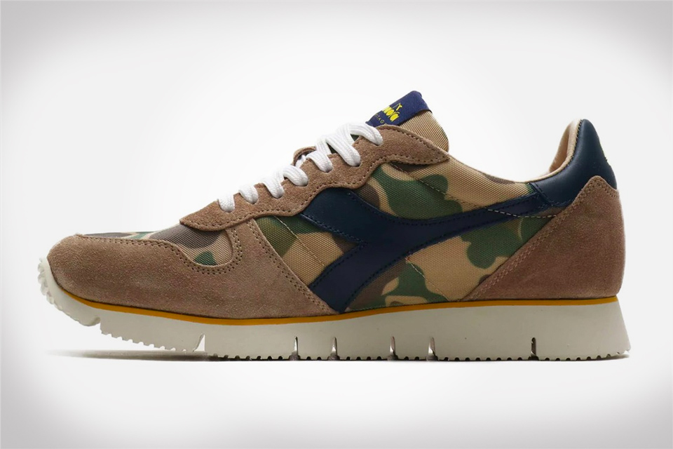 Diadora Adds a Camo Colorway to their Signature Camaro Sneaker