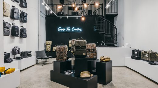 The front shot of the new HEX Downtown LA store