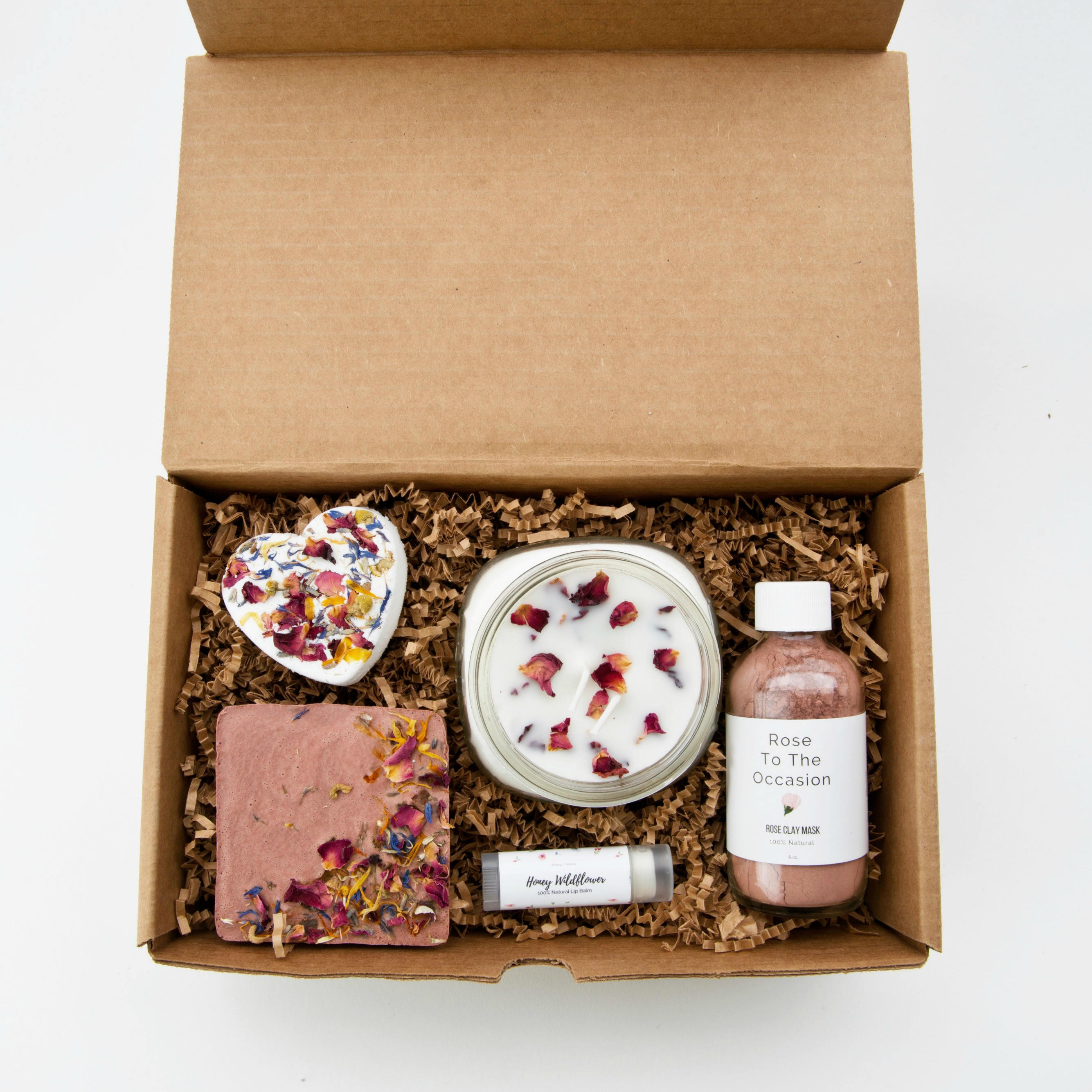 Natural Wildflower Spa Gift Set