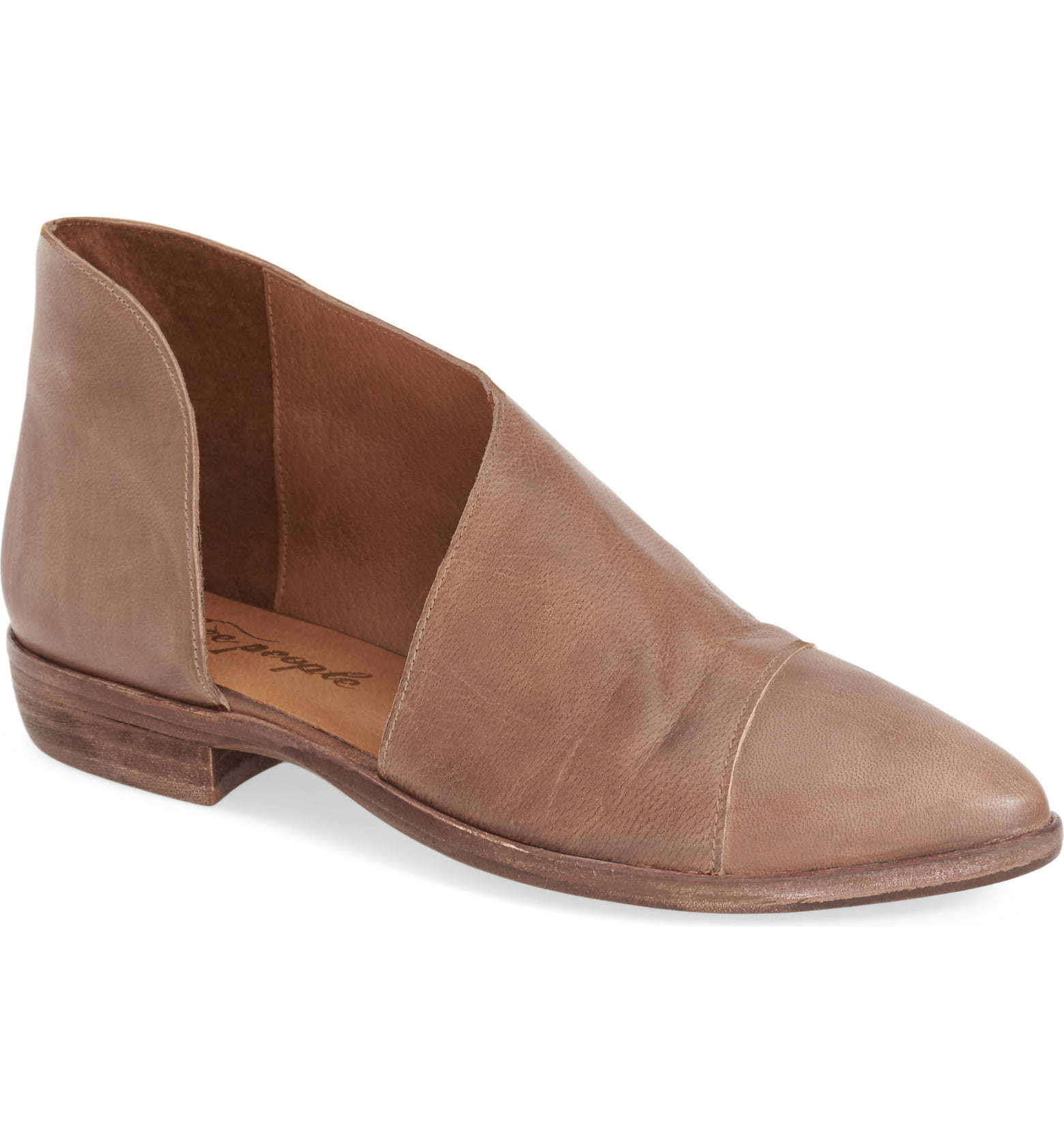 Royale Pointy Toe Flat FREE PEOPLE