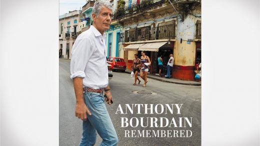 Anthony Bourdain Remembered Hardcover Book