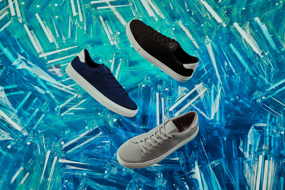 GREATS Royale Knit constructed from recycled ocean plastics