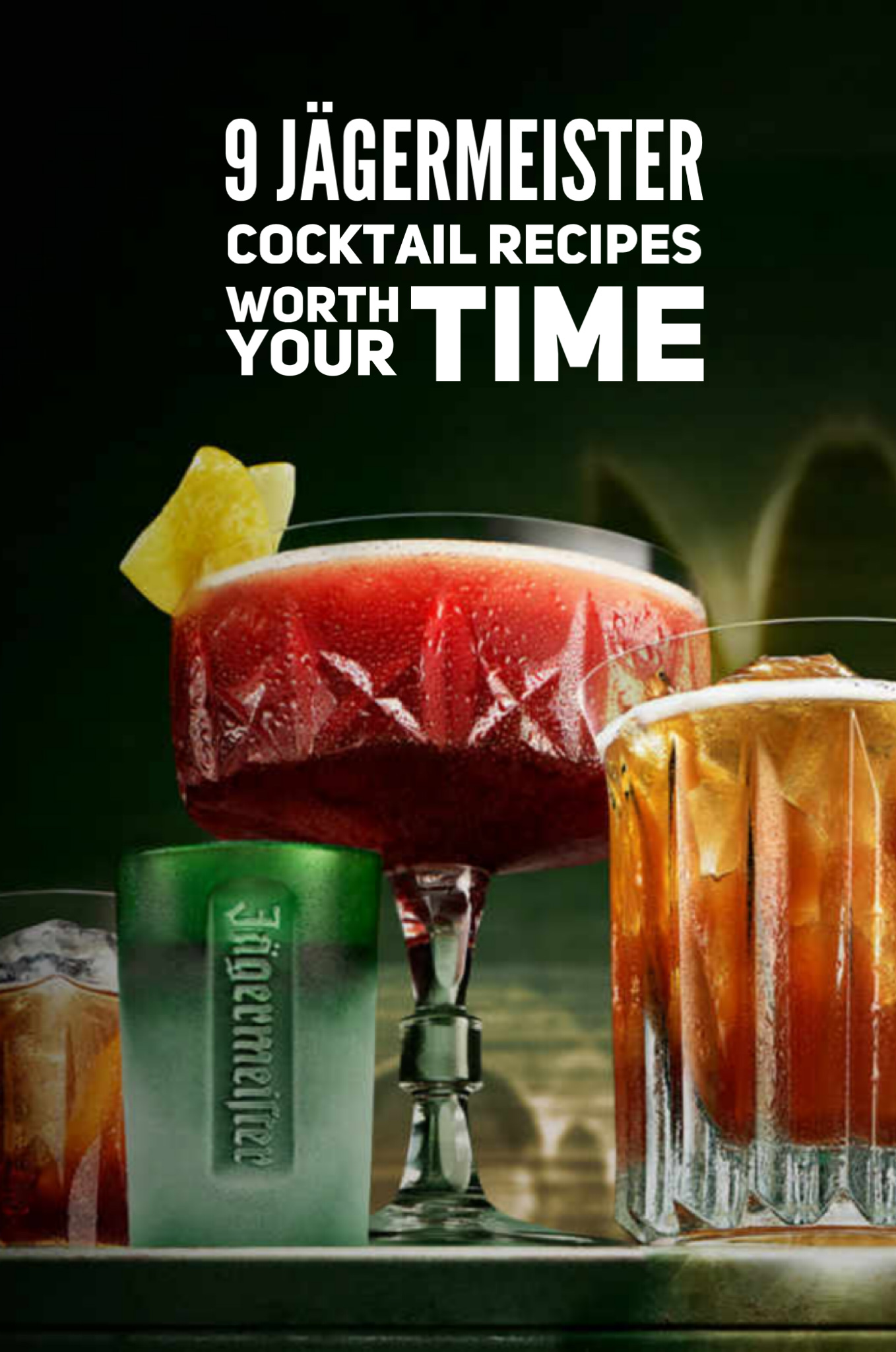 9 Jagermeister Cocktail Recipes Worth Your Time