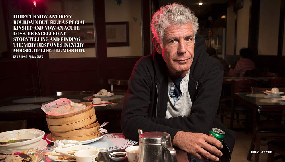Ken Burns quote about Anthony Bourdain