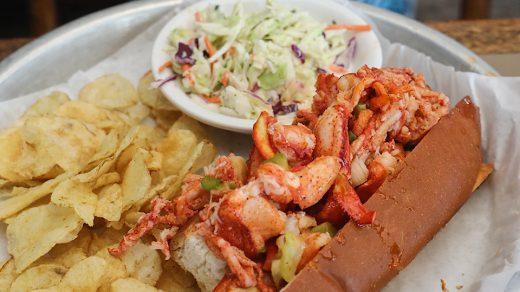 Sam's Chowder House Lobster Roll