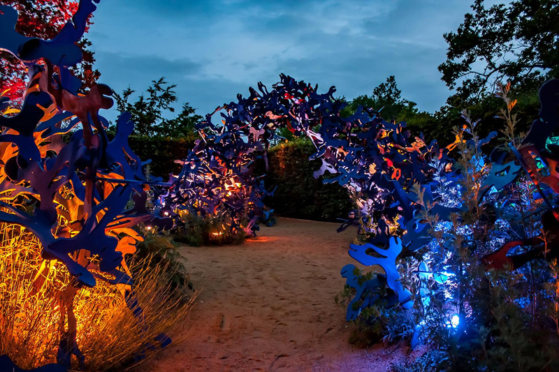 Gardens of Lights at Chaumont-sur-Loire