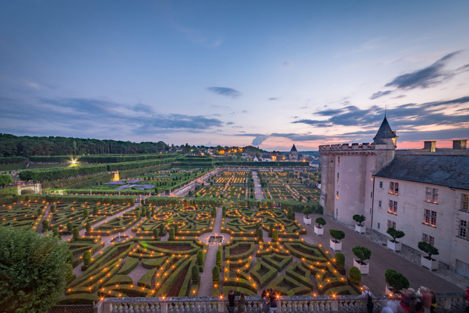 Nights of a Thousand Lights at Château de Villandry