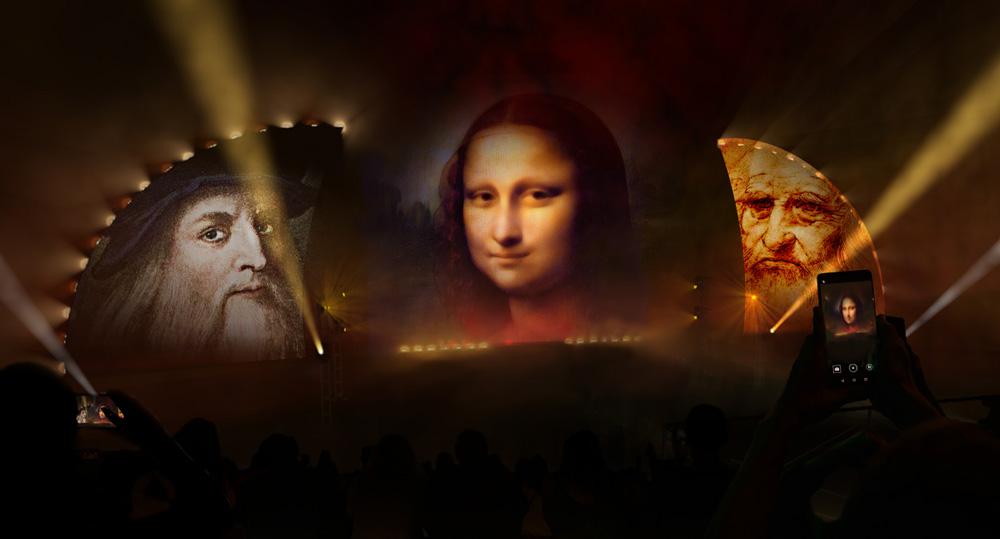 Viva Leonardo, the Pol'Occhio show