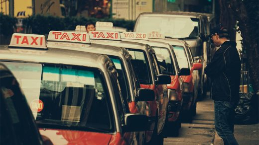 Becoming a taxi driver - driving careers