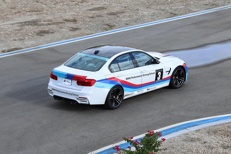 BMW driving instructors vehicle