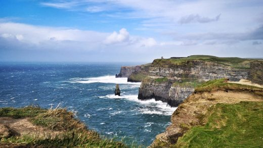 The famed Cliffs of Moher