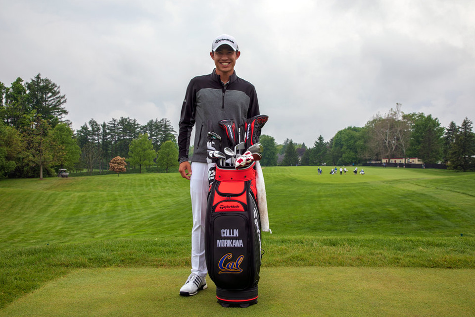 Collin Morikawa signs with TaylorMade
